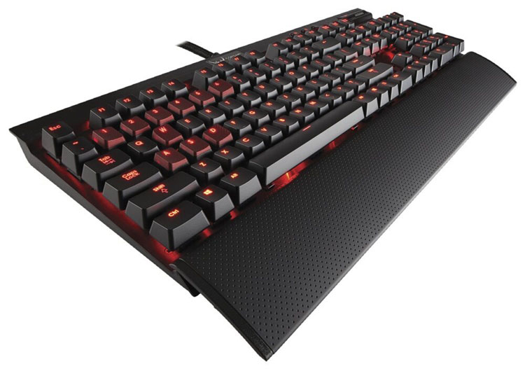 corsair k70 review keyboard
