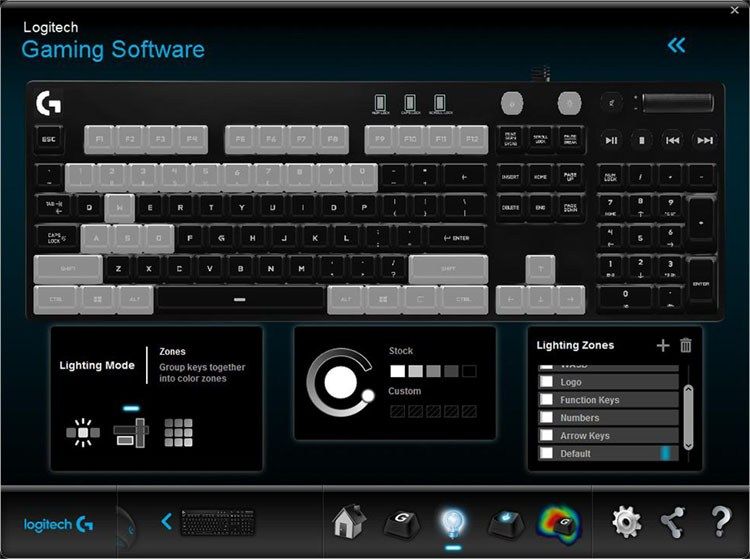 logitech g610 review software